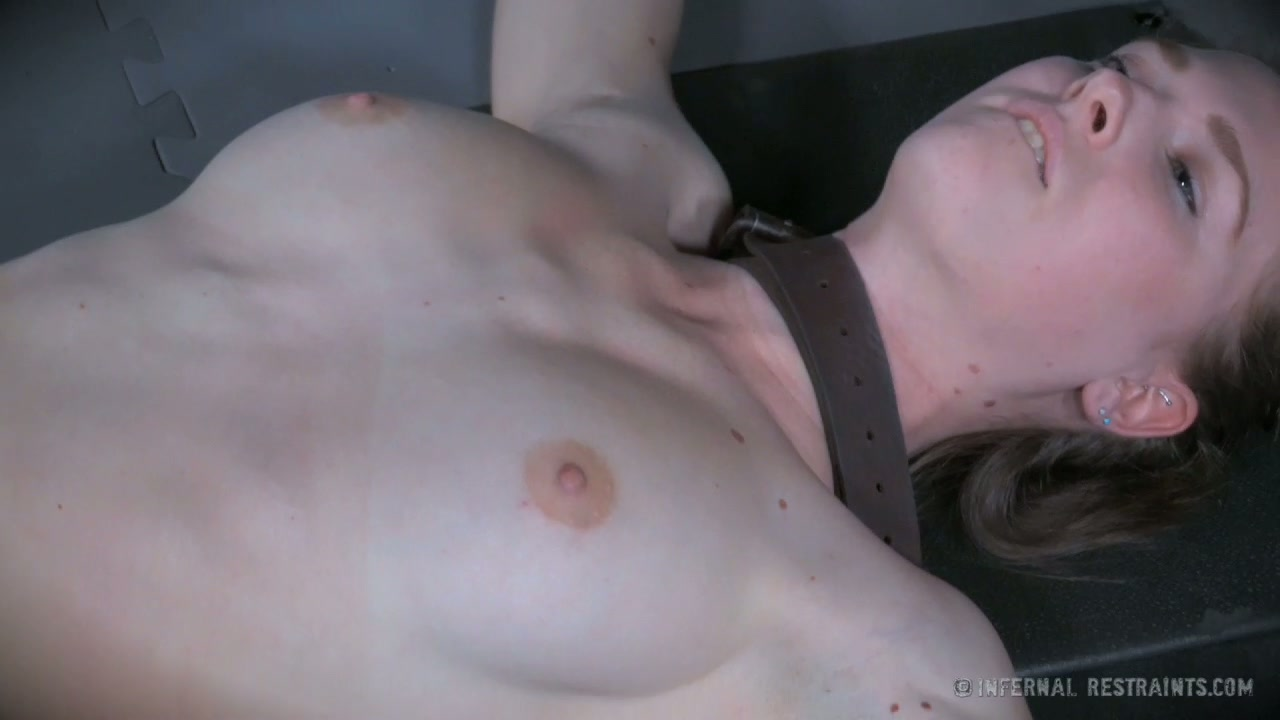 Pale skinned girl Alena is toy fucked in kinky BDSM porn video
