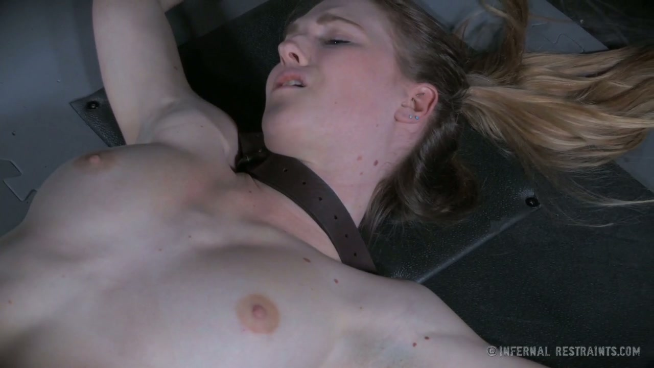 Alena is screaming out with pleasure while being toy fucked in BDSM porn vid