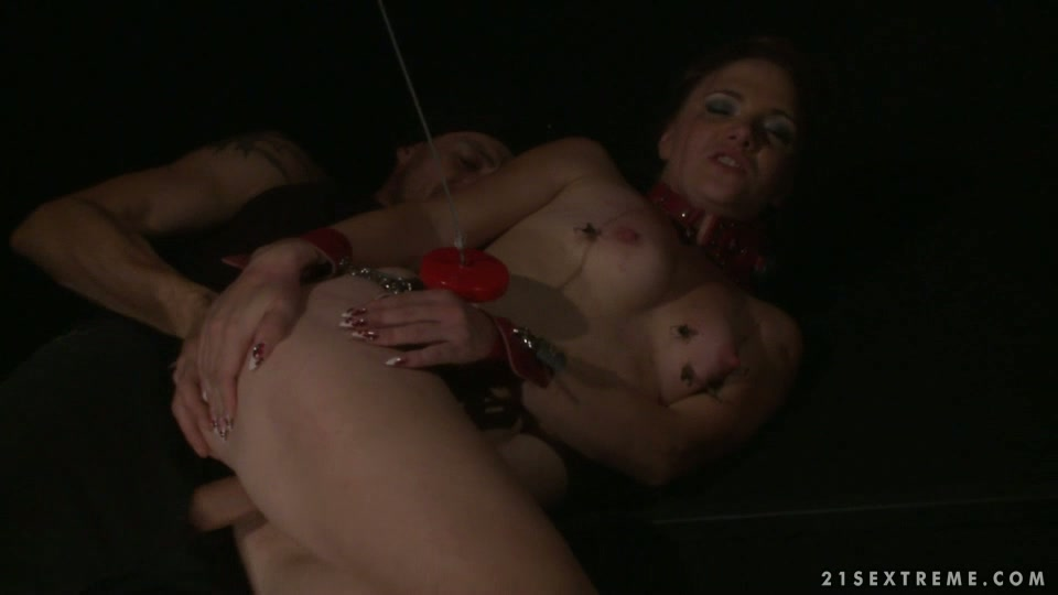 Kinky bitch craving for pain is getting fucked hard in hardcore BDSM porn clip