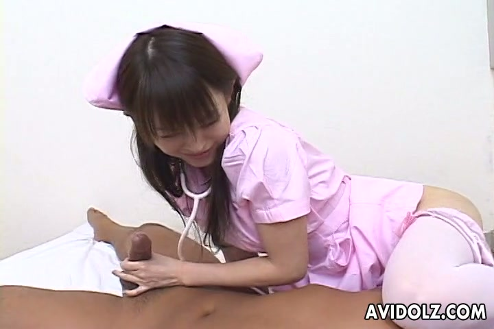 Dirty Japanse nurse Ai Himeno fucks her patient right in the hospital