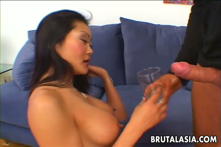 Seductive Asian porn star Lucy Lee gives quality blowjob in a dirty porn video