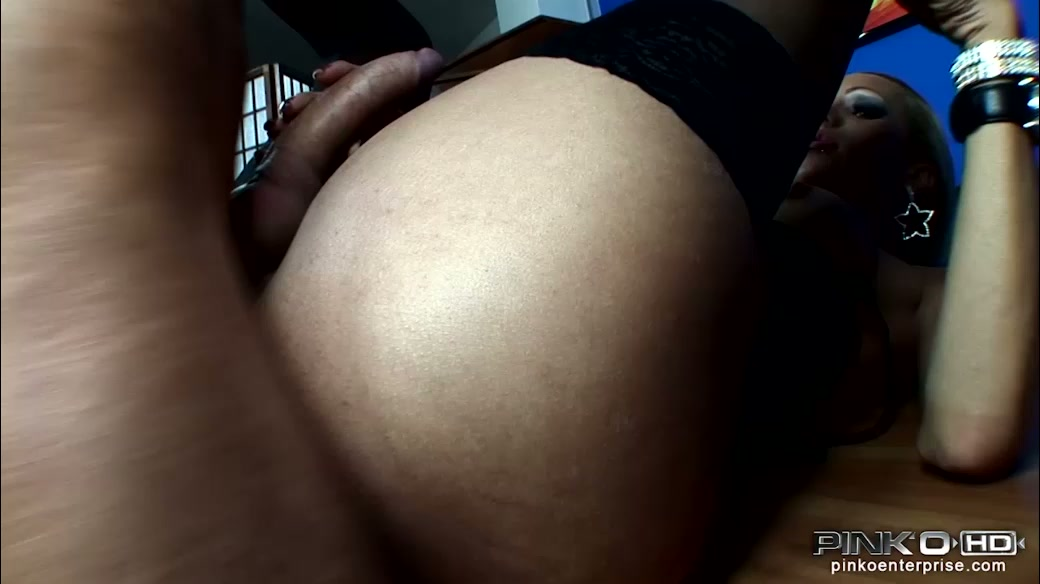 Lusty shemale Renata Dalila gets her cock sucked after anal sex